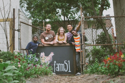 The crew behind our new sign. Charlotte and Andrew did an awesome job!